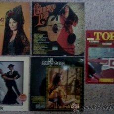 Discos de vinilo: LOTE DE CINCO DISCOS LP VARIADOS RELACIONADOS.. Lote 30522495