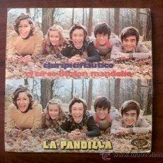 Discos de vinilo: DISCO SINGLE LA PANDILLA-CHIRIPITIFLAUTICO-MOVIE PLAY 1973. Lote 30550686