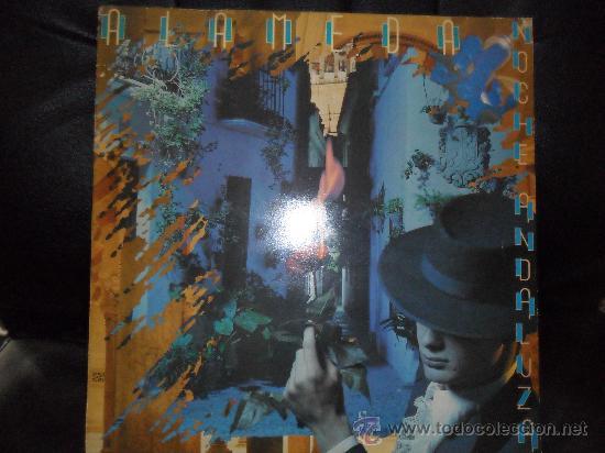 ALAMEDA , NOCHE ANDALUZA .- LP 1983 (Música - Discos - LP Vinilo - Grupos Españoles de los 70 y 80)