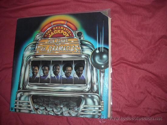 RON BANKS AND THE DRAMATICS LP THE DRAMATIC JACKPOT 1975 USA PORTADA DOBLE (Música - Discos - LP Vinilo - Funk, Soul y Black Music)