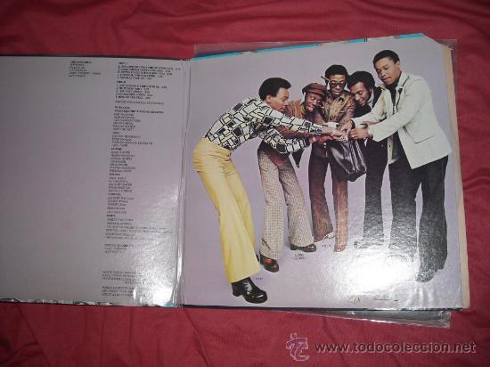 Discos de vinilo: RON BANKS AND THE DRAMATICS LP THE DRAMATIC JACKPOT 1975 USA PORTADA DOBLE - Foto 2 - 30572577