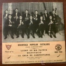 Discos de vinilo - DISCO MICROSURCO DISCOTECA POPULAR CATALANA-Nº2-OBRA ALMOGAVERS--COBLA BARCELONA-COLUMBIA - 30575032