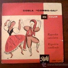 Discos de vinilo - DISCO MICROSURCO-COBLA COMBO-GILI DE THUIR-RAPSODIA CATALANA-RIGODÓN ROSELLONÉS-PATHÉ - 30575237
