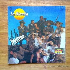 Discos de vinilo: LA BIONDA, BANDIDO Y THERE IS NO OTHER WAY, SINGLE EDITADO POR HISPAVOX EL AÑO 1979. Lote 30593643