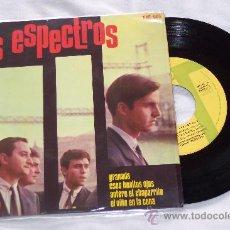 Discos de vinilo: LOS ESPECTROS 7´EP GRANADA + 3 TEMAS INSTRUMEN.(1965) EXCELENTE ESTADO **RARO**. Lote 30580530