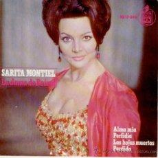 Discos de vinilo: SARITA MONTIEL - SARA - DEL FILM : LA DAMA DE BEIRUT - EP 1965 - PRACTICAMENTE NUEVO. Lote 30583727