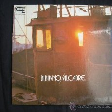 Discos de vinilo: LP BIBIANO // ALCABRE // FOLK PROG. GALLEGO // DOBLE PORTADA. Lote 30585667