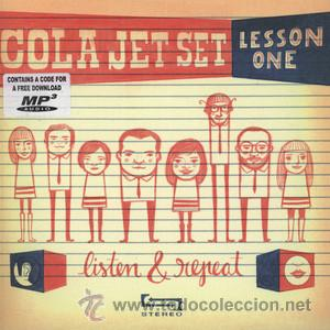 Discos de vinilo: SINGLE EP COLA JET SET LESSON ONE LISTEN & REPEAT LOS FRESONES REBELDES VINILO - Foto 1 - 181571485