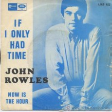 john rowles,if i only had time del 68