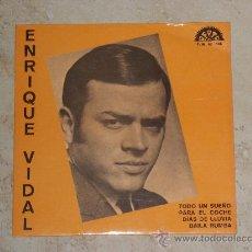 Discos de vinilo: EP- ENRIQUE VIDAL -TODO UN SUEÑO+3-BERTA-1971-. Lote 30606409