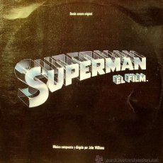 Discos de vinilo: BSO SUPERMAN LP DOBLE 1978 (JOHN WILLIAMS) SPAIN. Lote 30616063