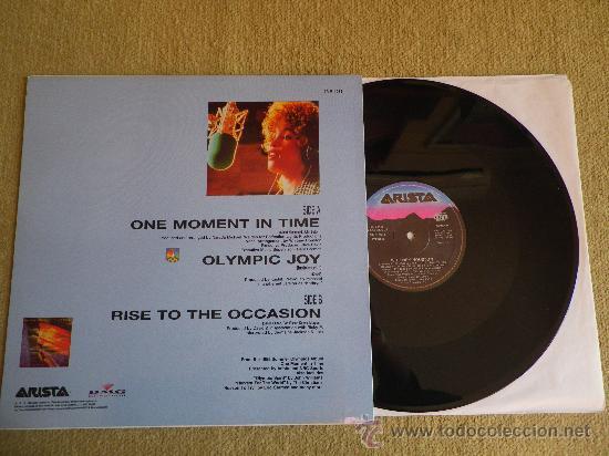 Discos de vinilo: WHITNEY HOUSTON One moment in Time MAXI SINGLE VINILO 12 JERMAINE JACKSON MUY RARO - Foto 2 - 30616132