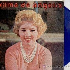 Discos de vinilo: WILMA DE ANGELIS - JUKE-BOX ( LA MAQUINA DE DISCOS ) + 3 - EP SPAIN 1959 - VINILO AZUL VG++ / EX. Lote 30619826