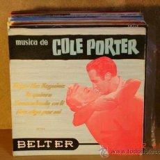 Discos de vinilo: HARRY ARNOLD Y SU ORQUESTA - MUSICA DE COLE PORTER - BELTER 50.014 - 1956. Lote 30622957