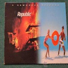 Discos de vinilo: NEW ORDER - REPUBLIC. Lote 29771843