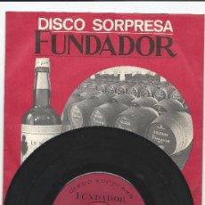 Discos de vinilo: 3438- DISCO EP- MUSICA ACTUAL- FUNDADOR. Lote 30631649