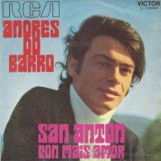 Discos de vinilo: LOTE 2 AÑOS 70 -ANDRES DO BARRO/SAN ANTON - NICOLA DI BARI/IL CUORE É UNO ZINGARO-1º SAN REMO O. Lote 30648738