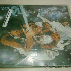 Discos de vinilo: BONEY M - NIGHTFLIGHT TO VENUS. Lote 30659213