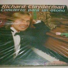 Discos de vinilo: RICHARD CLAYDERMAN - CONCIERTO PARA UN OTOÑO (DOBLE). Lote 30713099