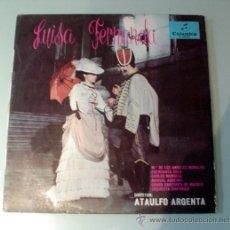 Discos de vinilo: DISCO VINILO. LUISA FERNANDA POR ATAULFO ARGENTA. AÑO 1962. COLUMBIA. Lote 30651305