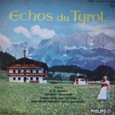 """Discos de vinilo: LP DE ARTISTAS VARIOS ECHOS DU TYROL (25 CM O 10"""") EDICIÓN FRANCESA. Lote 30655168"""