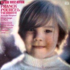 Discos de vinilo: LP ARGENTINO DE FRANCK POURCEL Y SU ORQUESTA AÑO 1974. Lote 30655348