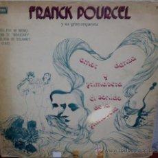 Discos de vinilo: LP ARGENTINO DE FRANCK POURCEL Y SU ORQUESTA AÑO 1976. Lote 30655414