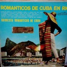 Discos de vinilo: LP ARGENTINO DE ORQUESTA ROMÁNTICOS DE CUBA AÑO 1964. Lote 30655716
