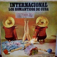 Discos de vinilo: LP ARGENTINO DE ORQUESTA ROMÁNTICOS DE CUBA S 4010. Lote 30655768