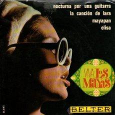 Discos de vinilo: LOS MAYAS - EP SINGLE VINILO 7'' - VIVA LOS MAYAS - 4 TRACKS - BELTER 1967. Lote 30657782
