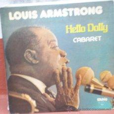 Discos de vinilo: LP ARGENTINO DE LOUIS ARMSTRONG AÑO 1975 EN DIRECTO. Lote 30657847