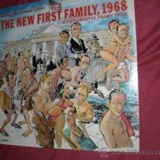 Discos de vinilo: BOB BOOKER & GEORGE FOSTER PRESENT 'THE NEW FIRST FAMILY, 1968' A FUTURISTIC FAIRY TALE LP USA. Lote 30659484