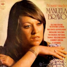 Discos de vinilo: LP ARGENTINO DE MANUELA BRAVO AÑO 1976. Lote 30660844