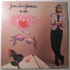 Discos de vinilo: JUAN LUIS GUERRA, BACHATA ROSA. Lote 30665162