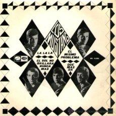 Discos de vinilo: LOS MUSTANG - EP SINGLE VINILO 7'' - EL SOL NO BRILLARÁ NUNCA MÁS + 3 - EMI 1966. Lote 30671552