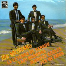 Discos de vinilo: LOS MUSTANG - EP SINGLE VINILO 7'' - BEATLES COVER - LADY MADONNA (THE BEATLES COVER) + 3 - EMI 1968. Lote 30671580