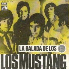 Discos de vinilo: LOS MUSTANG - SINGLE 7'' - LA BALADA DE LOS DIEZ CÉNTIMOS + 1 - EMI 1969. Lote 30671621