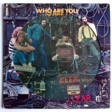 Discos de vinilo: THE WHO - WHO ARE YOU - PICTURE LP US 1978 - MCA MCAP-14950. Lote 30672228