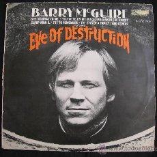 Discos de vinilo: LP BARRY MCGUIRE // EVE OF DESTRUCTION // GERMANY. Lote 30675489