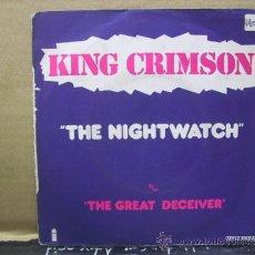 Discos de vinilo: KING CRIMSON - THE NIGHTWATCH / THE GREAT DECEIVER - EDICION FRANCESA - ISLAND 1974 . Lote 30681840