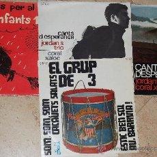 Discos de vinilo: LOTE DE 4 EP CANCONS CATALANA. Lote 30682848