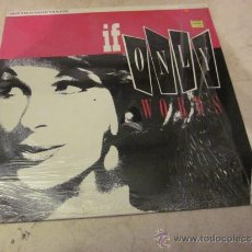 Discos de vinilo: ONE THOUSAND VIOLINS - IF ONLY WORDS 12¨ - IMMACULATE 1989. Lote 30685313