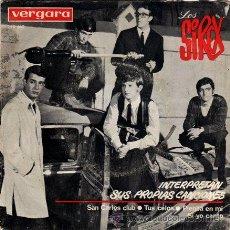 Discos de vinilo: LOS SIREX ··· SAN CARLOS CLUB / TUS CELOS / PIENSA EN MI / SI YO CANTO - (EP 45 RPM). Lote 30686787