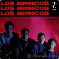 Discos de vinilo: LOS BRINCOS ··· FLAMENCO / NILA / BYE, BYE CHIQUILLA / ES COMO UN SUEÑO - (EP 45 RPM). Lote 30687755