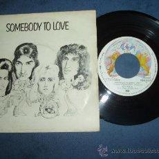 Discos de vinilo: QUEEN SINGLE SOMEBODY TO LOVE HARD SPAIN MINT- MEGARARE. Lote 30700567