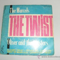 Discos de vinilo: THE MARCELS - OLIVER AND THE TWISTERS - THE TWIST 1961. Lote 30707983