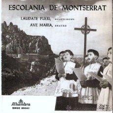 Discos de vinilo: ESCOLANIA DE MONTSERRAT AÑO 1962. Lote 30716885