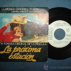 Discos de vinilo: LA PRÓXIMA ESTACIÓN SINGLE DE CULTO MOVIDA 1982 LAS CHINAS PROMO W/L RARO SPAIN EX++. Lote 30717555