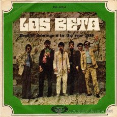 Discos de vinilo: LOS BETA ··· LLEGA EL DOMINGO / IN THE YEAR 2525 - (SINGLE 45 RPM). Lote 30724979