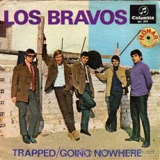 Discos de vinilo: LOS BRAVOS ··· TRAPPED / GOING NOWHERE - (SINGLE 45 RPM). Lote 30725147